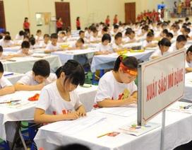 """Cuộc thi học sinh giỏi quốc gia 2015: """"Bàn tính và số học trí tuệ  UCMAS"""""""