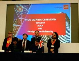 Đại học Việt Nam hợp tác với ACCA tại diễn đàn giáo dục Việt Nam - Anh Quốc