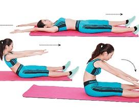Eo thon, dáng chuẩn chỉ với 3 bài tập thể dục