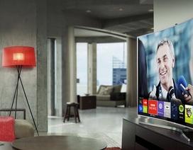 TV màn hình cong tiếp tục thống trị xu hướng