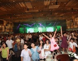 Hàng trăm cư dân tham dự Trung thu cùng Mega
