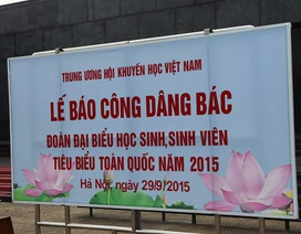 Lễ báo công khuyến học tại Lăng Chủ tịch Hồ Chí Minh