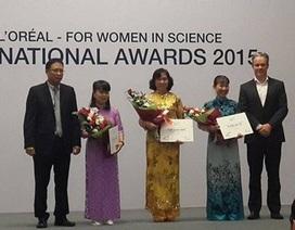 Vinh danh 3 nữ nhà giáo - nhà khoa học trẻ của Việt Nam