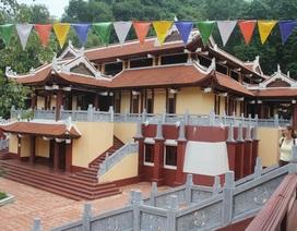 Hà Nội: Sẽ xử lý vụ xây dựng trái phép công trình lạ ở chùa Hương