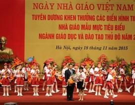 Hà Nội: Tuyên dương, khen thưởng hơn 1.000 tập thể, cá nhân, nhà giáo