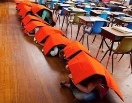 Nhiều trường học tại Mỹ đưa chăn chống đạn vào sử dụng