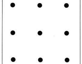 Thử tài tư duy với câu đố 9 chấm