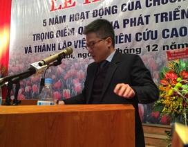 GS Ngô Bảo Châu chỉ ra điểm bất lợi của khoa học Việt Nam