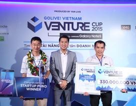Venture Cup 2015 tạo nền tảng cho các bạn trẻ khởi nghiệp