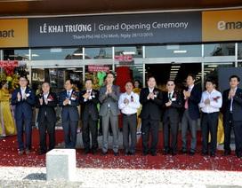 Đại siêu thị Emart đầu tư lên đến 60 triệu USD
