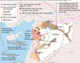 [Infographics] Những vụ không kích ác liệt của Nga tại Syria