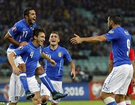 Thắng Azerbaijan, Italia đoạt vé dự Euro 2016