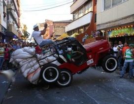 """Ngày hội kỳ lạ tại """"thiên đường"""" của xe Jeep"""