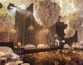 Quang cảnh xa hoa trong lễ sinh nhật triệu đô của mẹ cô Kim