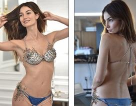Hé lộ siêu mẫu được mặc áo lót triệu đô của Victoria's Secret