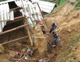 Lở núi, 3 người mất tích, 5 người bị thương