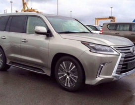 Lộ diện Lexus LX phiên bản nâng cấp