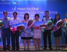 MobiFone trao thưởng các chương trình khuyến mại dịch vụ GTGT 2015