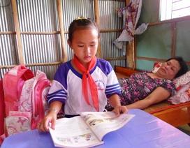 Mẹ ung thư, bé gái lớp 4 đi học cứ lo… mẹ chết
