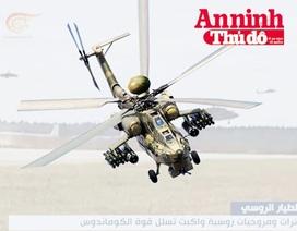 """Inforgraphic: Sát thủ """"Thợ săn đêm"""" Mi-28N của Nga đã có mặt tại Syria"""