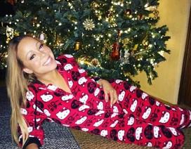 Mariah Carey nhí nhảnh đón Giáng sinh