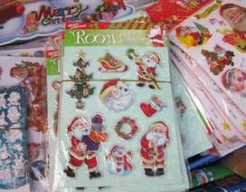 Cảnh giác trước miếng dán hoạt hình cho trẻ mùa Noel