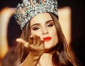 Lệ Quyên giành giải phụ tại cuộc thi Hoa hậu siêu quốc gia 2015