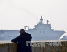 Pháp thảo luận bán tàu Mistral cho Malaysia