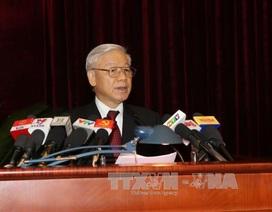 Phát biểu của Tổng Bí thư tại phiên khai mạc Hội nghị Trung ương 13