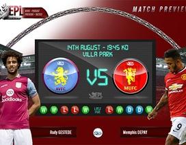 Aston Villa - Man Utd: Hướng tới Champions League