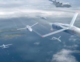 Mỹ phát triển UAV phóng và hạ cánh trên máy bay