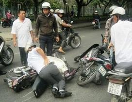 Kỳ lạ vụ cướp trăm triệu tại trung tâm Sài Gòn