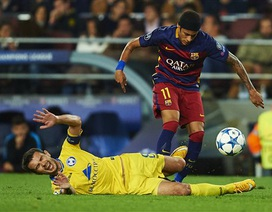 Neymar-Suarez lập công, Barcelona đè bẹp Villarreal