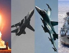 Nga giăng màn thép bảo vệ máy bay không kích ở Syria