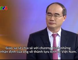 Ông Nguyễn Thiện Nhân nhận định về thành tựu kinh tế bằng tiếng Anh