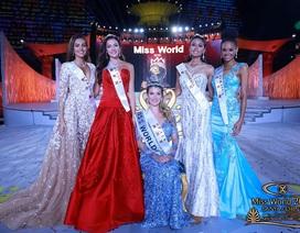 Những hình ảnh đẹp trong chung kết hoa hậu thế giới