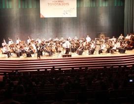 Người Đà Nẵng thích thú với Hòa nhạc Toyota