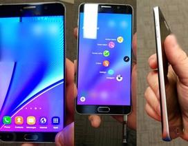 Lộ ảnh rõ nét điện thoại Galaxy Note 5 chuẩn bị ra mắt