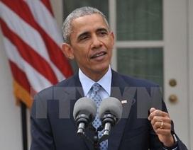 Ông Obama sẽ có bài phát biểu đặc biệt về cuộc chiến chống khủng bố