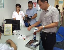 Lại phát hiện sai phạm tại phòng khám có bác sĩ Trung Quốc