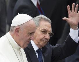 Giáo hoàng Francis thăm lịch sử tới Cuba, Mỹ