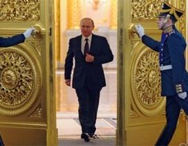 Tổng thống Nga Vladimir Putin chuẩn bị đọc Thông điệp Liên bang