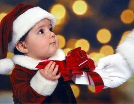 Mách các mẹ mua quà Giáng sinh cho bé yêu