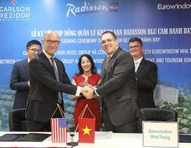 Tập đoàn quản lý khách sạn hàng đầu thế giới sẽ quản lý Radisson Blu Cam Ranh Bay