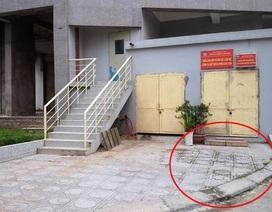 Hà Nội: Bé trai 5 tuổi rơi từ tầng 22 chung cư xuống đất