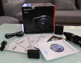 Cận cảnh máy ảnh 4K của Sony Cybershot DSC-RX10 II