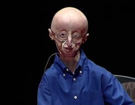 Nghị lực phi thường của cậu bé tuổi teen mắc chứng lão hóa sớm