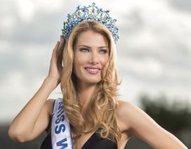 Cận cảnh nhan sắc bốc lửa của tân Hoa hậu thế giới