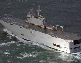 Ai Cập và Saudi Arabia muốn mua tàu chiến Mistral của Pháp