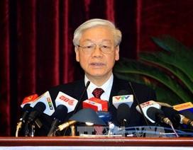 Toàn văn bài phát biểu của Tổng Bí thư tại phiên bế mạc Hội nghị Trung ương 13